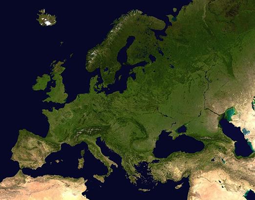 Mapa Europy Mapa Samochodowa Wyznaczanie Trasy Odleglosci